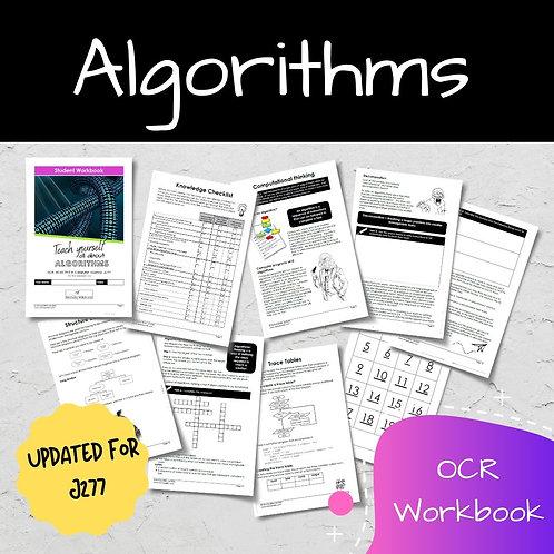 Algorithms OCR GCSE Computer Science Workbook (J277)
