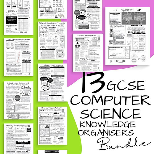 Computer Science Revision Knowledge Organisers