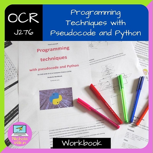 OCR Programming Techniques with Pseudocode and Python Workbook