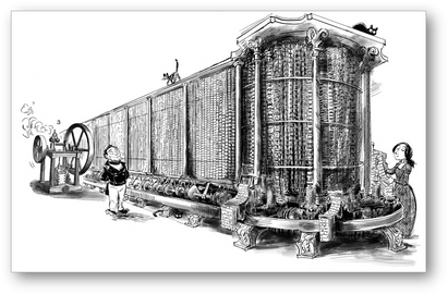The design for the improved Analytical Engine
