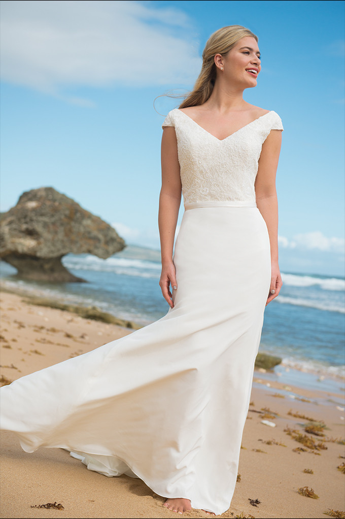 Dune Lily Bodice and Waterfall Skirt
