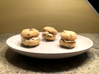 Chocolate Chip Cookie Ice Cream Sandwich: Bake-Along Edition