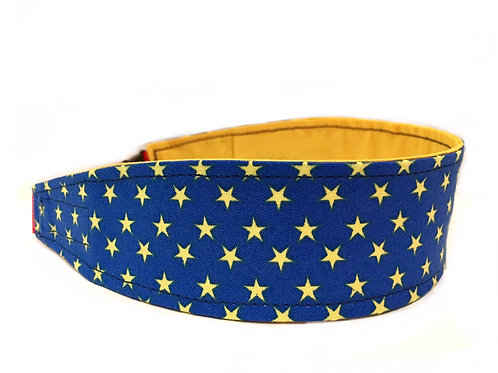 Royal Blue with Yellow Stars