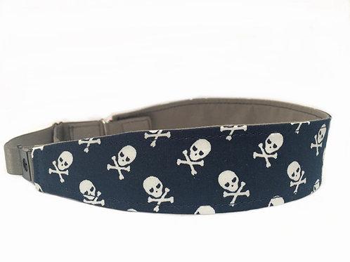 Navy Blue Mini Skull