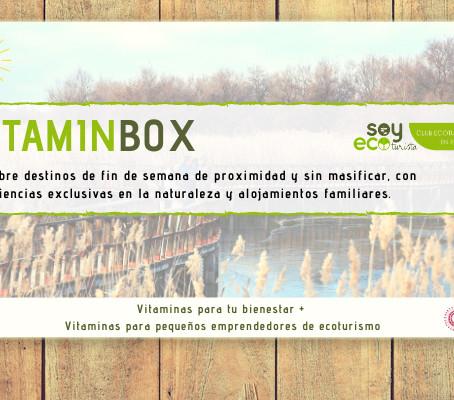 Bases de la promoción 15% de descuento VitaminBox #Ecoturismo