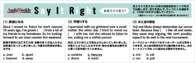 Say-It-Right「英語でどう言う?」202004
