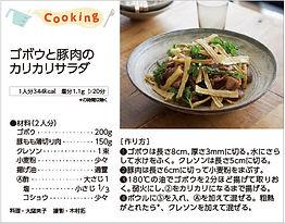 ゴボウと豚肉のカリカリサラダ.jpg
