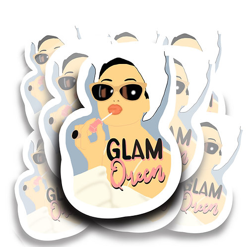 Glam Queen Sticker