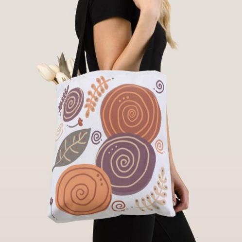 Whimsical Posies Tote, Fall is Here