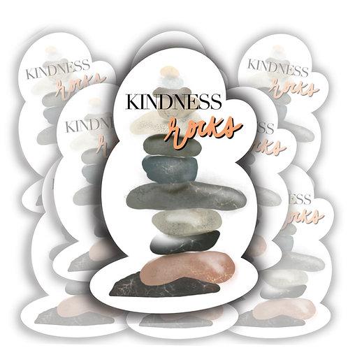 Kindness Rocks Sticker