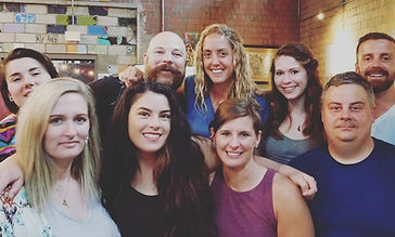 Group of family and locally owned massage therapist employees, Lexington Massage