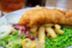 Hand beer battered Fish & Chips