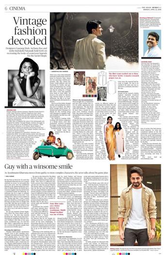 The Hindu, April 2018