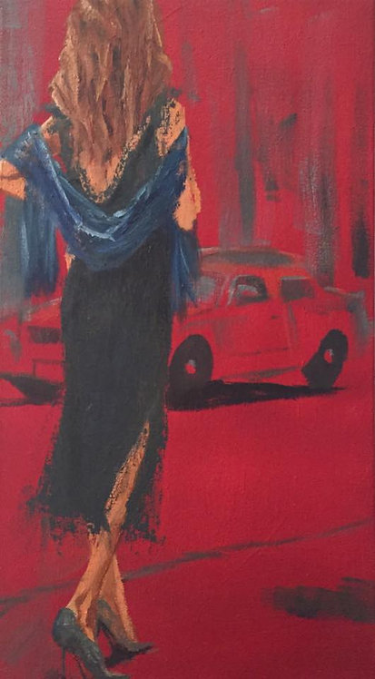 Seeing Red  15x30""