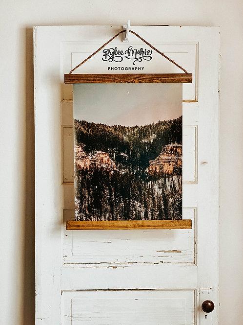 'Moonlit Canyon' Hanging Canvas