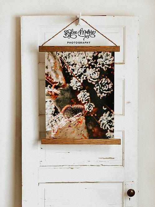 'Desert Love' Hanging Canvas