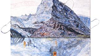 Mountauin Matterhorn lake
