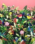 香氣 -떠다니기  Acrylic on Canvas 162.0x13