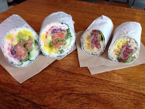 Salmon Mega & Ahi Roll