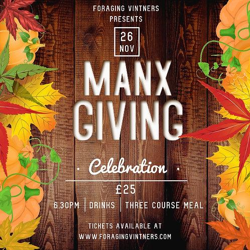 MANXGIVING - 26th November 2020