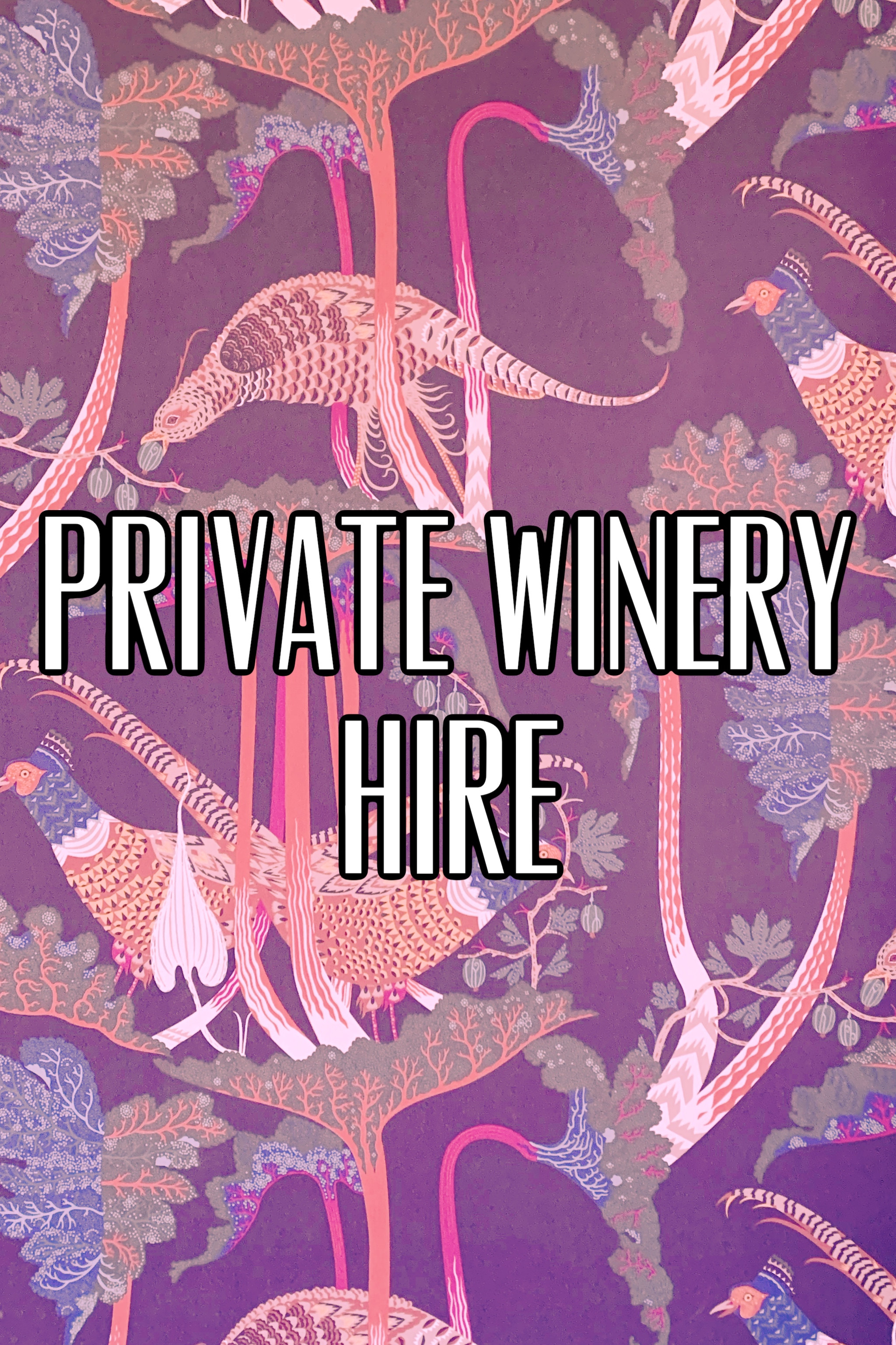 Hire the FV winery & bar