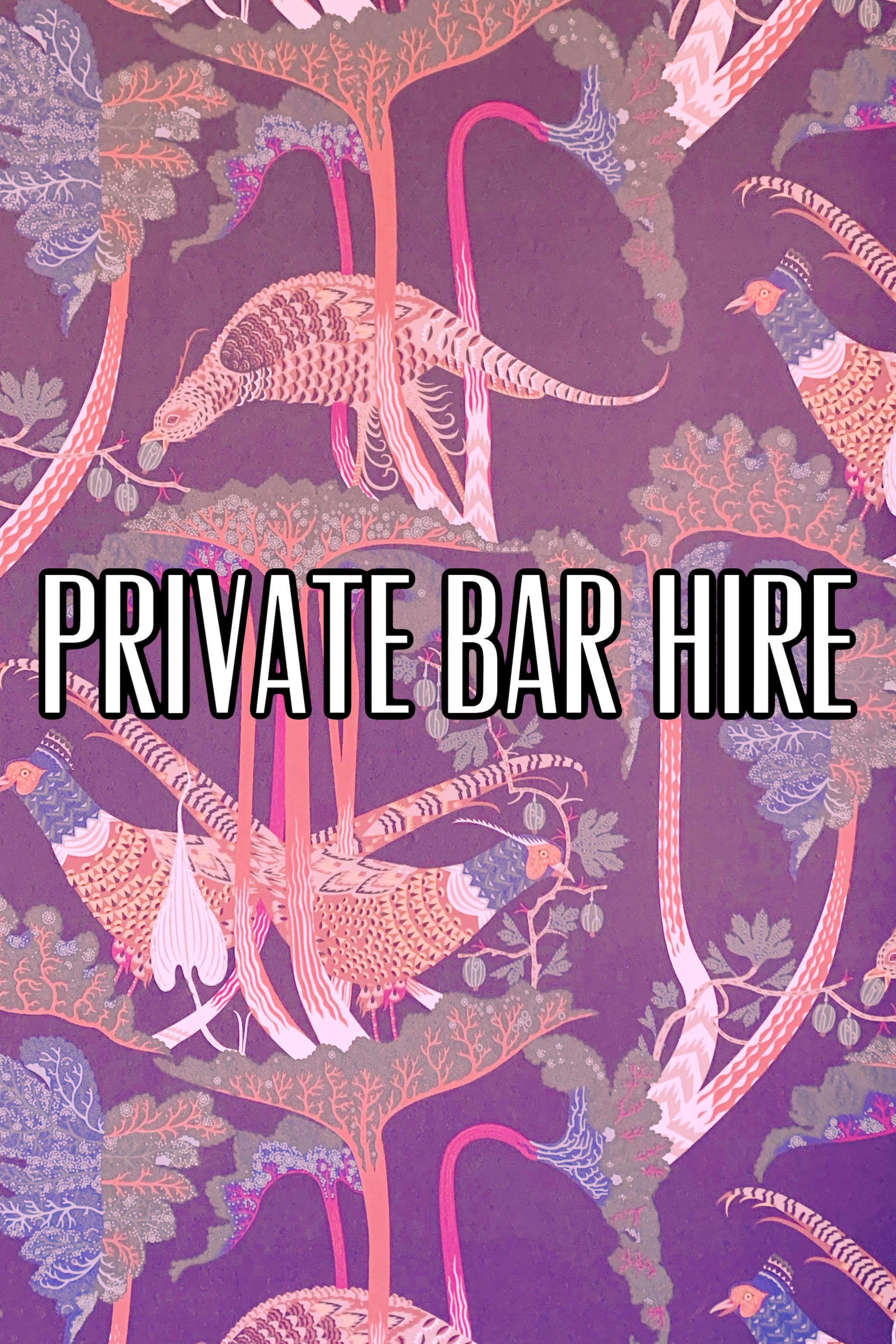 Private Bar Hire