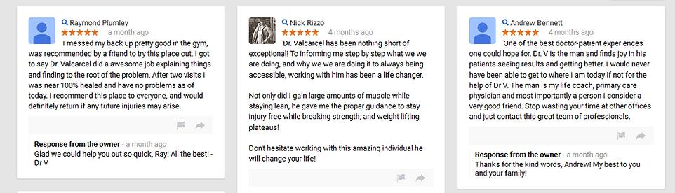 Ormond Beach Chiropractic reviews