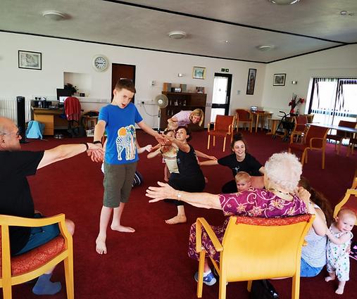 Intergenerational Dancing