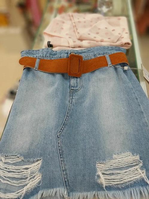Юбка-джинс