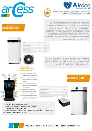AIRDOG SODECA X5 / X8