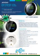 Medidor CO2 Efitest