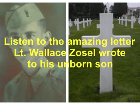 The Incredible Letter of a Fallen Hero to His Unborn Son