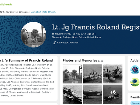 Using FamilySearch to Research WWII Fallen