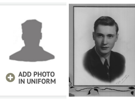 Going the Extra Mile to Find a Photo of the Fallen