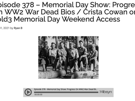 Volunteers are telling the stories of all 400,000+ US WWII fallen