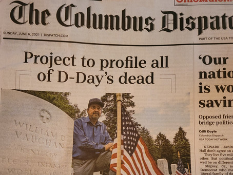 Front Page News: Quest to compile stories of all Americans killed on D-Day