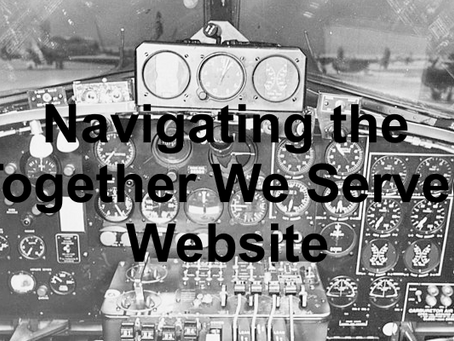 Getting Around the Together We Served Website