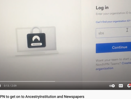 Using VPN to get free access to Ancestry, Newspapers, and Premium Fold3