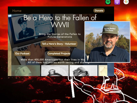 Learn about WWII fallen project at Point of the Spear podcast