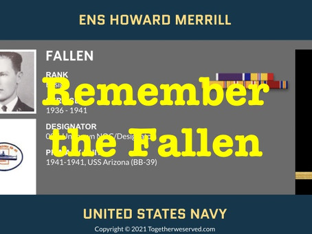 Learn how to save stories of the fallen to Together We Served