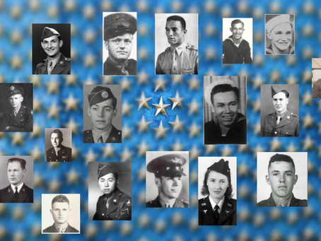 48 months to tell the remaining 408,000 WWII fallen stories