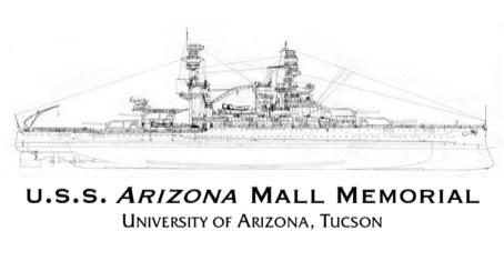 Adding USS Arizona Mall Memorial Chapter Name to TWS Profiles