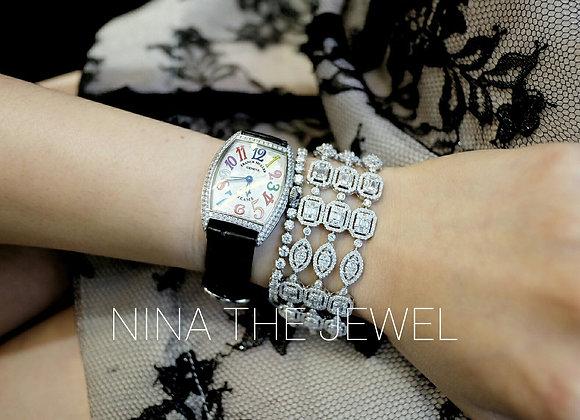 B3692 Fancy Illusion Bracelet
