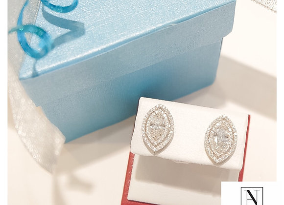 Top Marquise earrings with GIA certificates