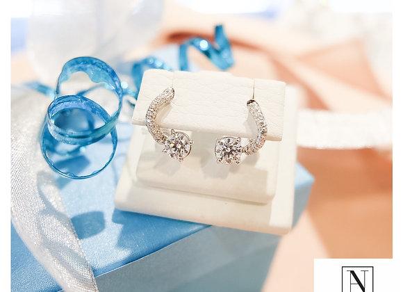 0.50ct each GIA certified earrings