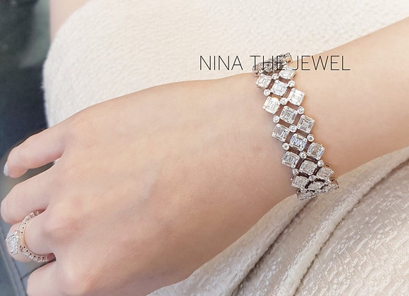 Fancy Square Bracelet