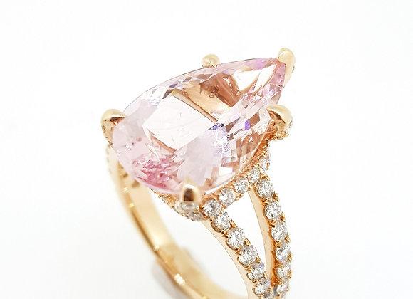 4.60ct Morganite Ring