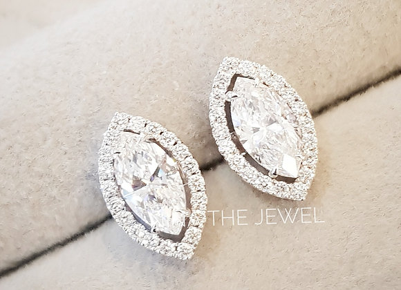 Marquise 0.60 cts F vvs2 GIA with jacket
