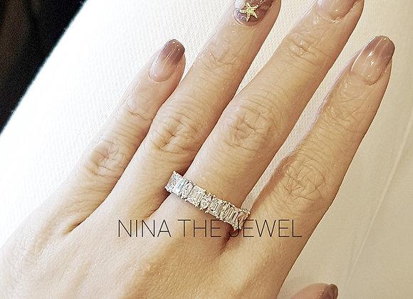 Fancy Eternity Ring (Size 50)