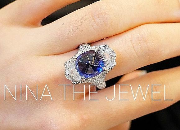 Rare Find UNHEATED Ceylon Blue Sapphire